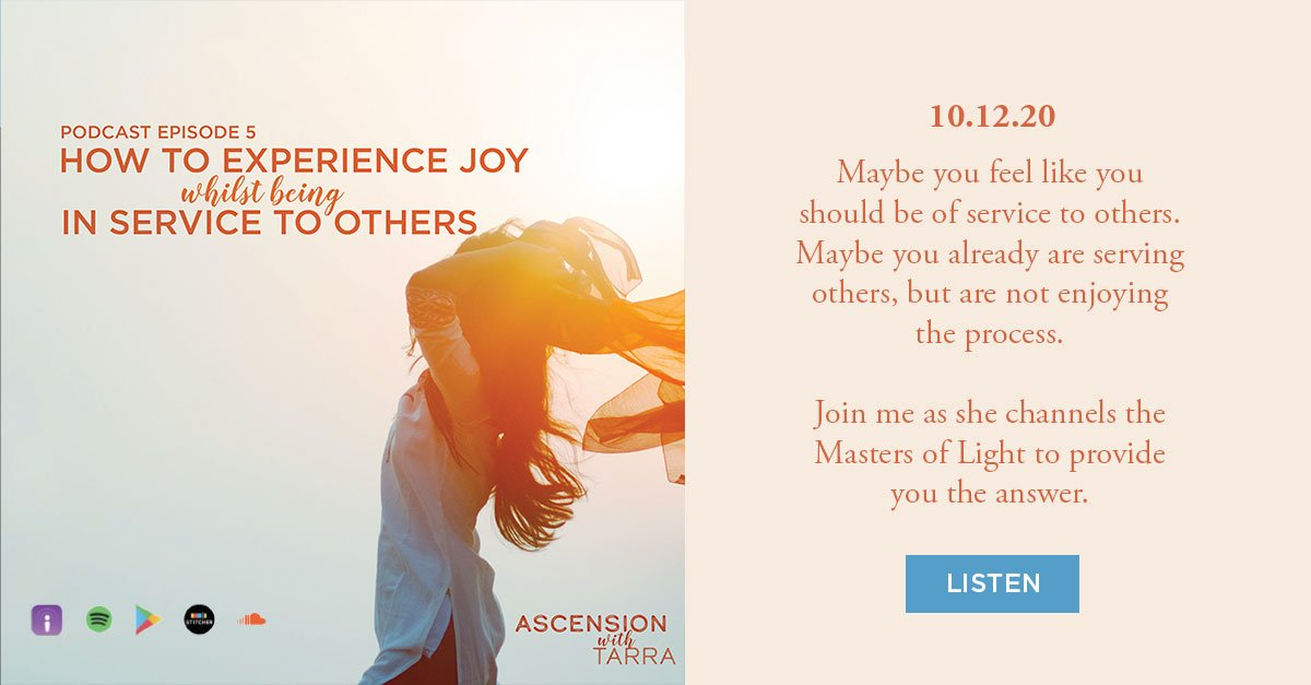How to Experience Joy Whilst Being in Service to Others