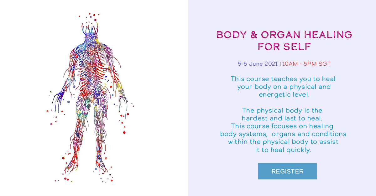 Body & Organ Healing System For Self